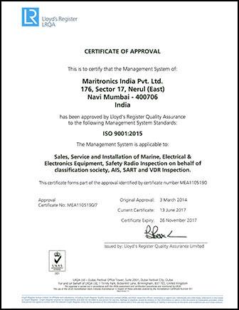maritronics-india-iso